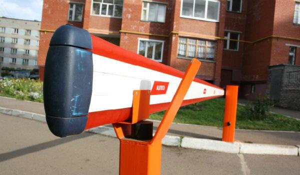 Компенсация за установку шлагбаума в Москве