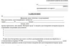 Как оформить ветерана труда в Мурманске в 2020 году