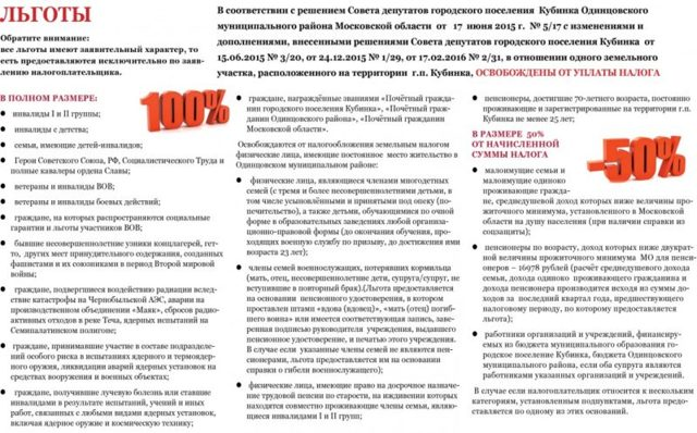 Льготы инвалидам 3 группы по земельному налогу в РФ в 2020 году