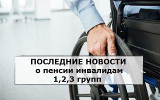 Пенсия 2 группы инвалидности по зрению в 2020 году